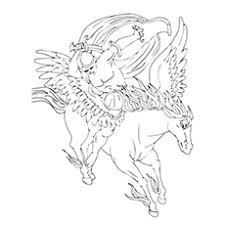 Pegasus Involved In Combat