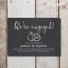 Best Enga Unique Engagement Party Invitations Diy Birthday and