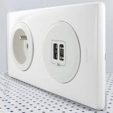 mettez des prises usb dans vos murs maison et domotique