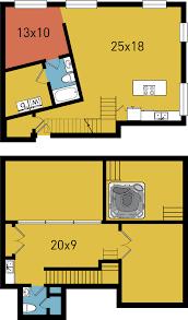 100 Dpl Lofts B16 1 Bed 2 Bath WTerrace 1252 Sf DPL Flats Downtown