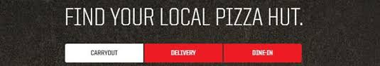 Pizza Hut Carryout Delivery Or Dine In
