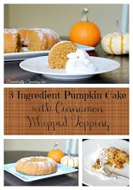 Pumpkin Spice Bundt Cake Using Cake Mix by 3 Ingredient Pumpkin Cake With Greek Yogurt Domestically Speaking