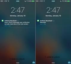 Notifications now wake screen in iOS 10 iPhone iPad iPod