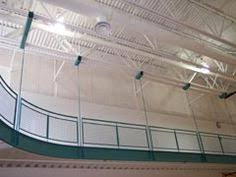 Tectum V Line Ceiling Panels by Our Panels Are Great For Aquatics Centers Where Noise And