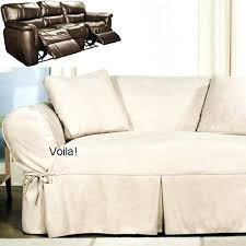 Sure Fit Sofa Covers Ebay by Reclining Sofa Covers Amazon Dual Recliner Slipcovers Ebay