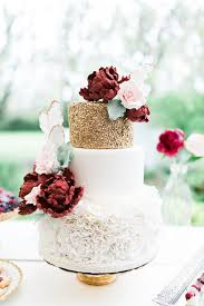 Wedding Cake Ideas Inspiration Modern Cakes Rustic Natural Vintage Open Layer Nake Gold Goldleaf Blog Sail And Swan