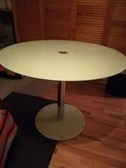 glastisch rund kaufen verkaufen bei quoka de