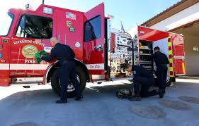 Riverside County's Busiest Fire Station Gets New Digs In Menifee ... Irving Fd The First To Deploy Blocker Trucks Nbc 5 Dallasfort Worth Fire Truck Sales Fdsas Afgr Trucks And Refighters With Uniforms Protective Helmet Solon Oh Official Website City Of Rochester Meets New Community Requirements A Custom Tomball Tx Whats Difference Between Engine Hawyville Firefighters Acquire Quint The Newtown Bee Smeal Apparatus Co