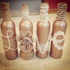 Decorative Wine Bottles Diy by I Think This Would Look Great Next To A Display Of Wedding