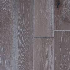 Garrison II Distressed 5quot White Oak Grey Wired Wood Flooring