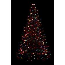 Pre Lit Incandescent Artificial Christmas Tree With 280 Multi Color Lights