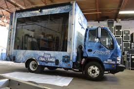 100 Glass Truck View Of The Fully Wrapped Inside Our Warehouse Ready For