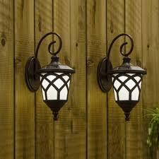 plastic outdoor wall lighting you ll wayfair