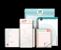 Notepad Printing For 1 Or 2 Color PMS Inks