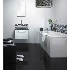 Night Black 600mm X 600mm FMP Black Tile Bathrooms