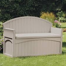 50 gallon patio bench suncast corporation