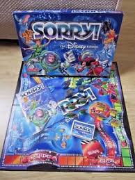 SORRY DISNEY Edition Board Game Waddingtons 2002 Family Fun Complete