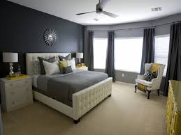 Master Bedroom Decorating Ideas Gray For Popular Dark Grey Wall Color Of Modern Small Home Design 31