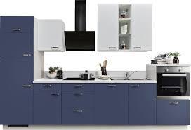 express küchen küchenzeile bari ohne e geräte mit soft funktion und vollauszü vormontiert breite 340 cm kaufen otto