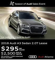 Audi Lease Specials in Atlanta GA