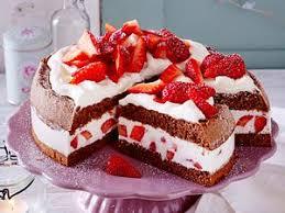 erdbeer quark kuchen lecker