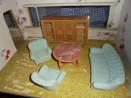 wohnzimmer komplett sofa 2 sessel tisch schrank