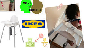 Ikea Antilop High Chair Tray by Ikea Antilop Baby High Chair Install Review 2017 Youtube