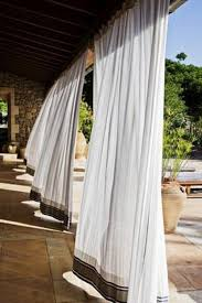 Pottery Barn Outdoor Curtains by Best 25 Patio Curtains Ideas On Pinterest Outdoor Curtains