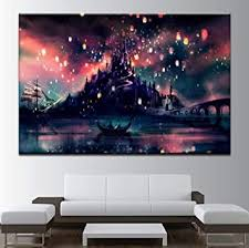 harry potter hogwarts gerahmte wandbilder für wohnzimmer büro 1 stück 50 x 70 cm