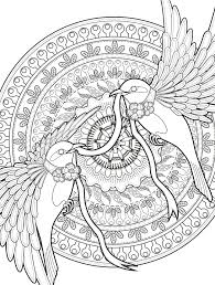Adult Coloring Pages Birds Free Book Barnes And Noble Beautiful Of For Adults Full Size