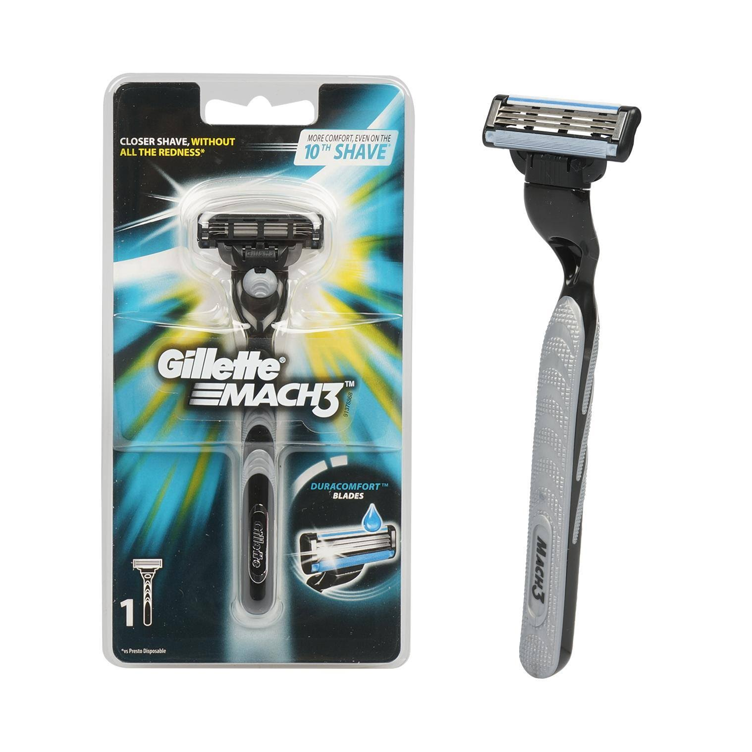 Gillette Mach 3 Manual Shaving Razor
