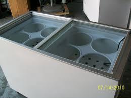 ice cream dipping freezervused