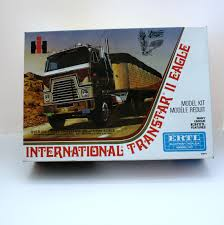 100 Vintage International Harvester Truck Parts IH Transtar II Eagle Ertl Model Kit