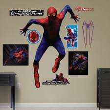 Fathead Princess Wall Decor by Fathead Amazing Spiderman Wall Climbing Sticker