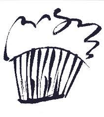 Chef Drawing Cupcake by Darlene Flood