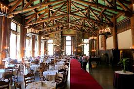 grand dining room picture of the majestic yosemite dining room