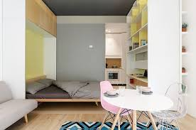 This 30 Square Meter Micro Apartment has a Moving Multi