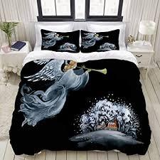 youmeisu bedding bettwäsche set gezeichnete