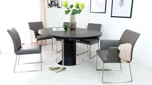 Dining Tables And Chairs Uk Comfortable Real Leather Black Table