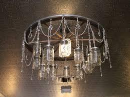 chandelier jar light fixture chandelier hanging jar lights