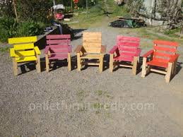 Kids Armchairs Project With Pallets In Pallet Projects Garden Children Armchair