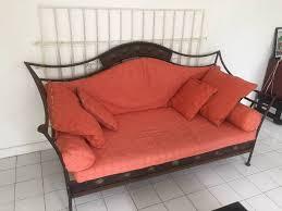 canapé fer forgé canapé fer forgé annonce meubles et décoration orient bay