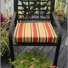 red and white patio chair cushions chairs home decorating