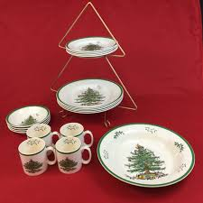 Spode Christmas Tree Gold by Spode Christmas Tree 12 Piece Set Christmas Lights Decoration