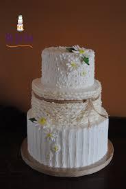Rustic Daisy Wedding On Cake Central