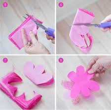 Paper Flower Cutting