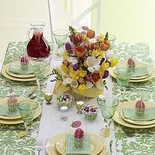 Plan An Easter Brunch With Beautiful Table Settings