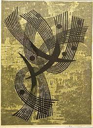 Japanese Woodblock Print By Fumio Fujita