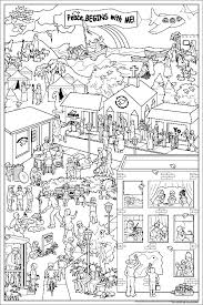 I Think It Would Have To Be Printed Pretty Big A Good Coloring Picture