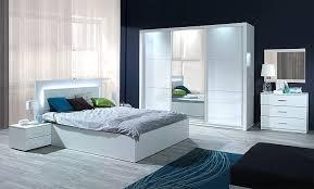 schlafzimmer siena hochglanz weiß bett schrank 2 x nako